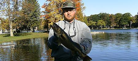 Fall Walleye Picture