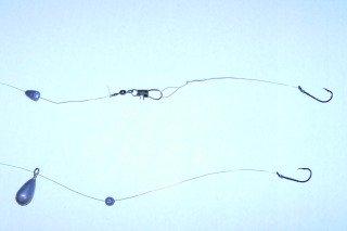 Bullhead Catfish Sliding Slip Sinker Rigs